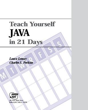 Teach Yourself Java In 21 Days With Images Teaching Java