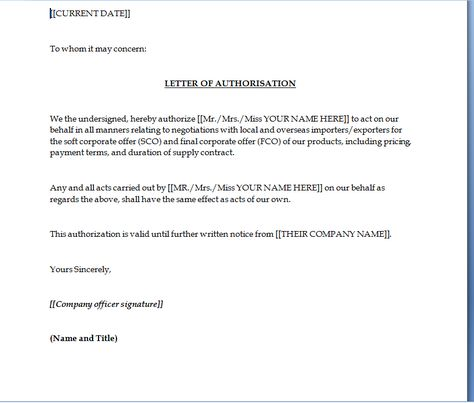 authorization letter collect noc from bank loan cover mai address - noc letter