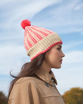 These casual and cool hats are the perfect addition to your winter weekend wardrobe. Men's and Women's versions available. Shown in Bernat Super Value.