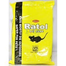 Ratol Rat Cake 100g Rat Poison Cake Lawn And Garden Lawn Garden Lawn Garden