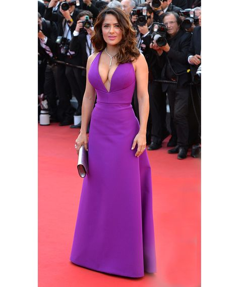 Purple Sexy V Neck Prom Dress , New Fashion Dress is part of Salma hayek UPS and so Size standard size or custom size, if dress is custom made, we need -