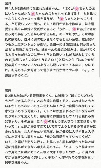 ハイキュー 夢 小説 妹