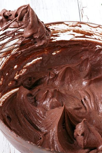 Chocolate Buttercream Frosting Without Powdered Sugar Ermine Icing Foxy Folksy Recipe Chocolate Icing Recipes Homemade Chocolate Frosting Frosting Recipes Easy