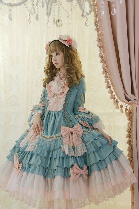 "alternativepurple: "" –Angelic Pretty ""Antoinette Princess"" dress ❀ """