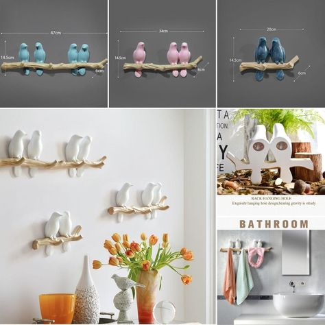 These nature indpired, artistic wall hooks comes in various colors.Just select the one which goes with your wall color.For secure checkout visit our online store by just clucking the pin.