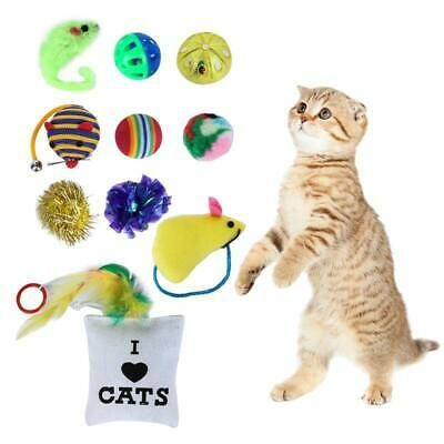 Details About 10 14pcs Pets Cat Lot Bulk Mice Balls Catnip Kitty Kitten Play Interactive Toys Pet Cat Toys Cat Toy Mouse Pet Toys