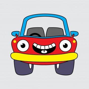 Cute Car Cartoon Vector Illustration Car Clipart Auto Automobile Png And Vector With Transparent Background For Free Download En 2021 Ilustracion Vectorial Cartoon Cartoon Carros Lindos