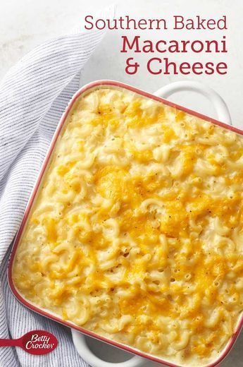 Southern Baked Macaroni And Cheese Recipe Recipes Macaroni