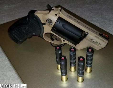 For Sale: Taurus Judge Public Defender Polymer 410 Bore Survival Weapons, Weapons Guns, Guns And Ammo, Zombie Weapons, Taurus Judge, Armas Airsoft, Custom Guns, Military Guns, Cool Guns