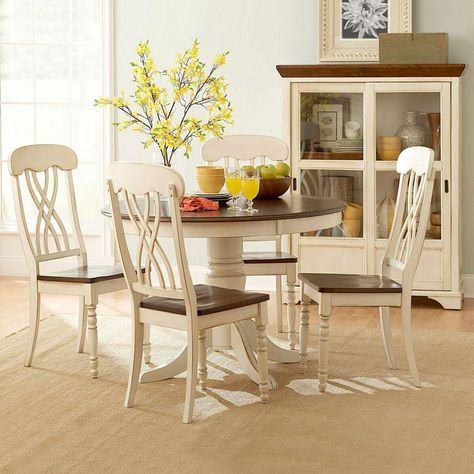 Cool Homesullivan Anna Antique White Dining Table Products Beatyapartments Chair Design Images Beatyapartmentscom