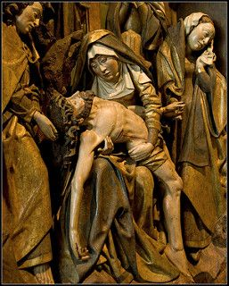 13th Station Of The Cross Jesus Is Taken Down From The Cross