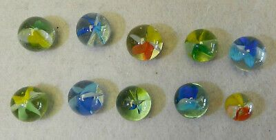 "MARBLE LOT 2 POUNDS OF 3//4/"" GREEN CATS EYE MARBLE KING MARBLES FREE SHIPPING"