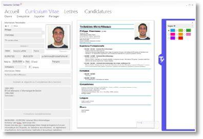 Cvitae Logiciel Gratuit Assistant Creation Cv Lettre Motivation Creation Cv Lettre De Motivation Logiciel Gratuit