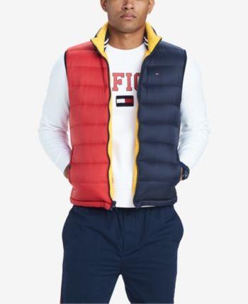 NFL Shield Logo PUFFER Winter Jacket navy