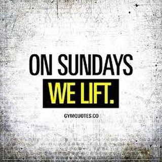 A Sunday Isnt Stopping My Workout Sundayfunday Onsundaywelift Fitfam Fitness Fitnessmotivation Fitness Motivation Quotes Gym Quote Gym Motivation Quotes