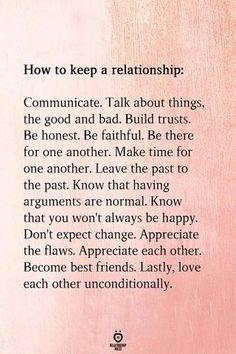How to make love last longer