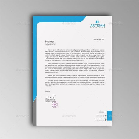 Teal yellow gradient border professional letterhead stellar canva teal yellow gradient border professional letterhead stellar canva templates pinterest professional letterhead letterhead template and letterhead spiritdancerdesigns Images
