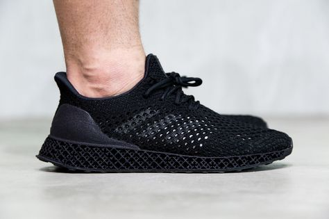 on sale ea377 f9827 On Feet Look at 3D Printed adidas Futurecraft