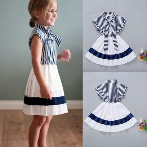 715eb29d3fc8c4 Kids Baby Girls Toddler Princess Party Long Sleeve Cat Tutu Dresses Clothes  5-6Y. Toddler Kids Baby Girls Summer Outfits Clothes T-shirt Tops+Tutu Skirt  ...