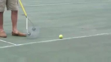 Video A Device For Collecting Tennis Balls