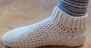 virkade sockor mönster