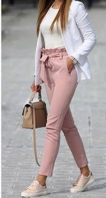 Casual Friday Outfit, Friday Outfit For Work, Casual Work Outfits, Mode Outfits, Work Casual, Stylish Outfits, Fashion Outfits, Casual Fridays, Semi Casual Outfit Women