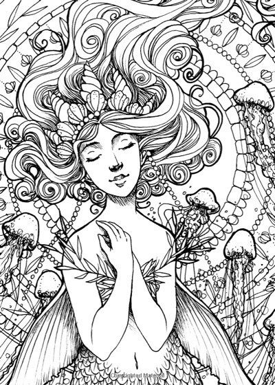 Best Mermaid Coloring Pages Coloring Books Mermaid Coloring Pages Mermaid Coloring Coloring Pages