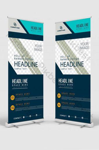 Vertical Banner Design Signboard Advertising Brochure Flyer Template Vector X Banner Psd Free Download Pikbest Powerpoint Design Templates Powerpoint Design Banner Design