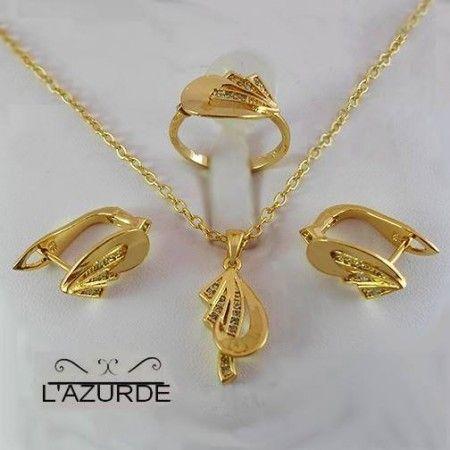 ذهب لازوردي يجنن سيدات مصر Gold Jewelry Gold Necklace