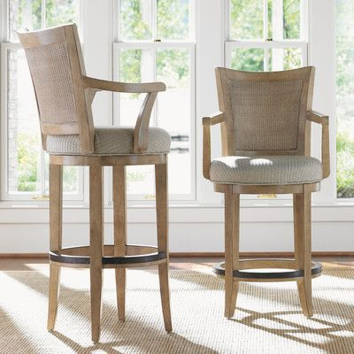 Kitchen Swivel Bar Stools With Arms