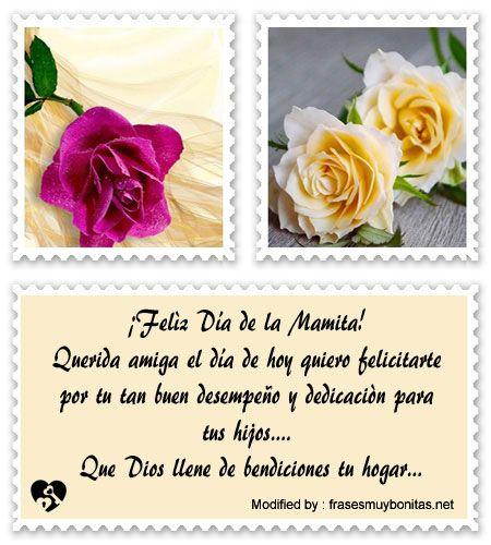 Lindos Mensajes Por El Dia De La Madre Para Una Amiga Saludos