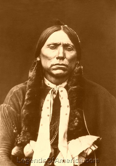 Comanche - Chief Quanah Parker Quannah Parker (1845?-1911) - The last Chief of the Quahadi Comanche, Parker was both a major resistor to white settlers, as well as a leader in the tribe's adjustment to reservation life.