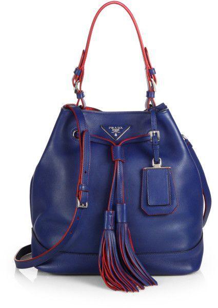 a7dbb3e9637d Prada Baiadera Arcade-Stripe Leather Satchel Bag featuring polyvore women's  fashion bags prada purses top handle satchel handbags leather co…