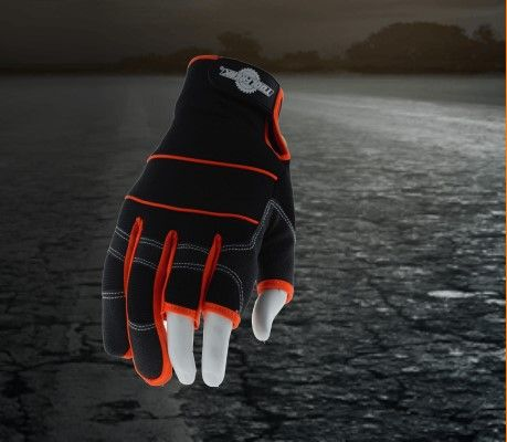 Padded Palms to Better Absorb Vibration and Make a ToolFreak Safety Work Gloves