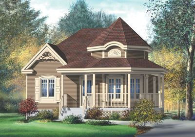 Plan 80377pm Country Style House Plan In 2021 Victorian House Plans Country Style House Plans Cottage Plan