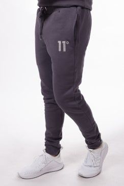Platinum Joggers Heather Grey 11degrees Grey Joggers Mens Outfits Joggers