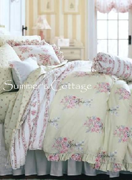 Shabby Chic Queen Comforter Sets | QUEEN RACHEL ASHWELL SIMPLY