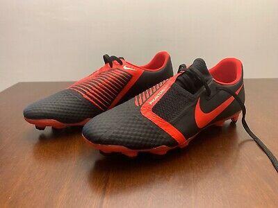 Nike Phantom Venom Academy Fg Soccer Cleats Men S 10 Black Red Ao0566 060 Vnm Ebay Soccer Cleats Cleats Nike