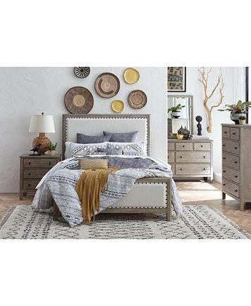 Parker Upholstered Bedroom Furniture Collection, Created for ...