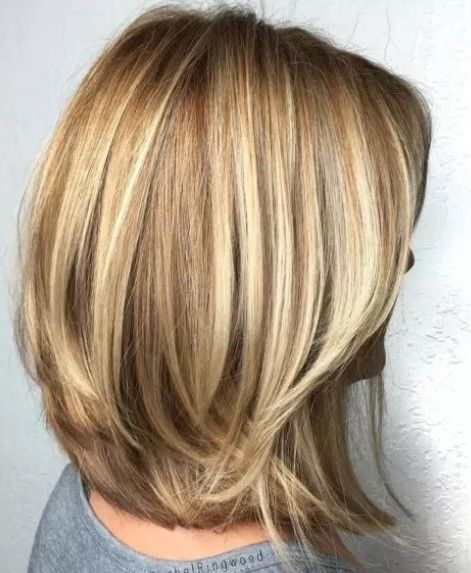 80 Best Medium Length Layered Hair Women Hairstyles Haircuts 2020 Medium Layered Haircuts Thick Hair Styles Bob Hairstyles For Thick
