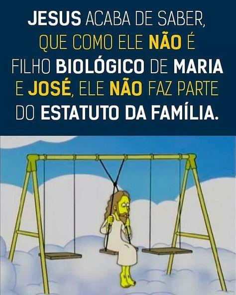 Quando o fundamentalismo religioso destrói até  a história  da própria religião.  #estatutodafamília #somostodosiguais