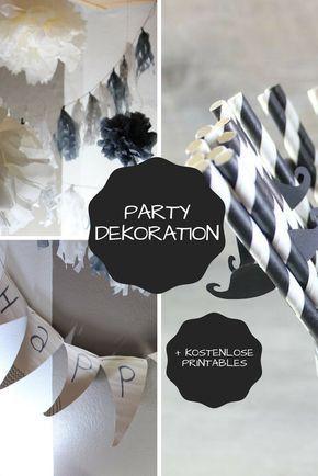 Party Dekoration Mannergeburtstag Alex Deko Geburtstag 30