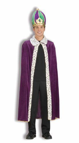 Adult King Crown and Robe Set