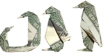 origami instructions art and craft ideas: money origami instructions | 210x400