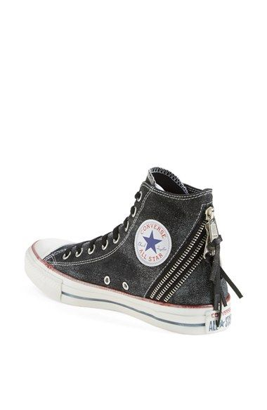 Chuck Taylor® All Star® Triple Zip Canvas Sneaker | Nordstrom ...
