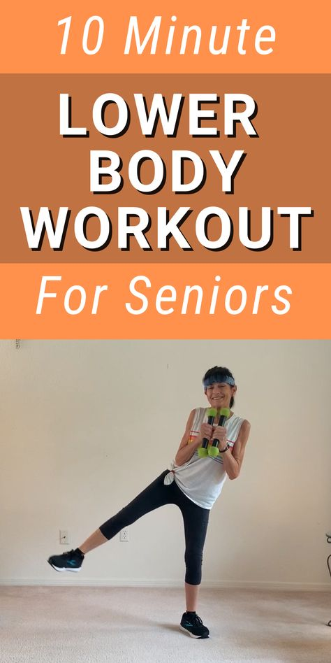 Lower Body Workout for Seniors - Fitness With Cindy