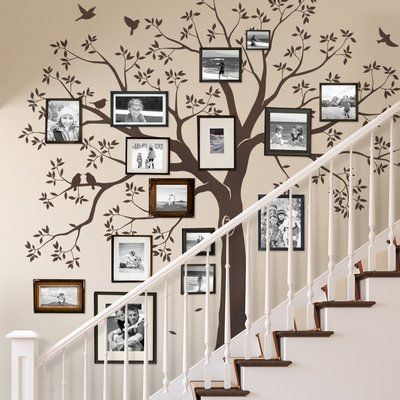 Staircase family Tree Wall Decal Tree Wall Decal Sticker Treppe-Familie Baum Aufkleber Baum Wand Aufkleber von SimpleShapes The post Staircase family Tree Wall Decal Tree Wall Decal Sticker appeared first on Fotowand ideen. Tree Decals, Family Tree Wall Decal, Tree Wall Art, Family Tree Wallpaper, Family Wall Art, Wall Stickers Tree, Tree Stencil For Wall, Tree Decal Nursery, Tree Wall Painting