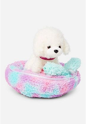 Pet Shop Girls Stuffed Animal Toys Justice Plush Pet Bed Pet Toys Pet Shop