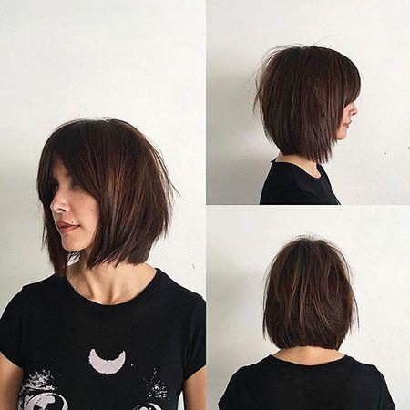20 Layered Bob Haircuts With Bangs Bob Haircut And Hairstyle Ideas Haarschnitt Bob Bob Frisur Haarschnitt