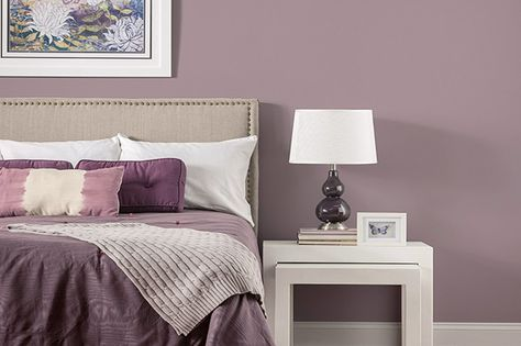 Bedroom Paint Colors The 12 Best Paint Colors To Try Decor Aid Bedroom Color Schemes Purple Bedroom Paint Bedroom Wall Colors